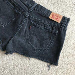 Levi's Cutoff Denim Shorts 30